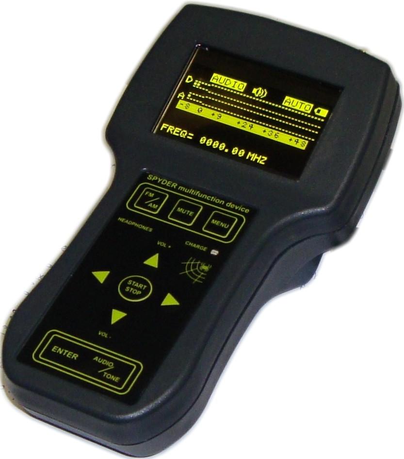 Spyder - прибор для поиска прослушки в офисе