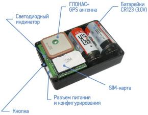 GPS трекер M130