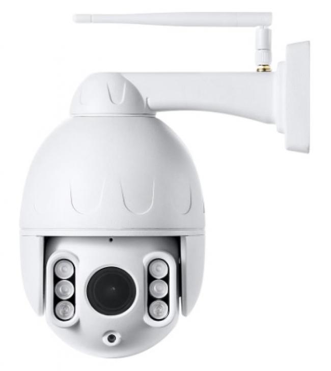 Уличная 5Мп поворотная Wi-Fi IP-камера Link SD09W-White-8G