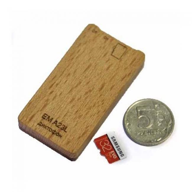 Диктофон Edic-mini microSD A23L